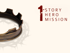 Genesis Church: Current Series Image - One Story, One Hero, One Mission...